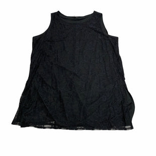 Primary Photo - BRAND: SLINKY BRAND STYLE: TOP SLEEVELESS COLOR: BLACK SIZE: 2X SKU: 190-190125-37817