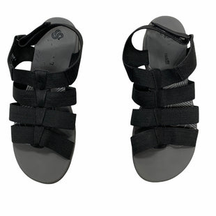 Primary Photo - BRAND: CLARKS STYLE: SANDALS FLAT COLOR: BLACK SIZE: 9.5 SKU: 190-19060-47382