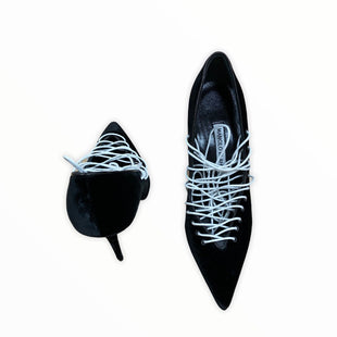 Primary Photo - BRAND: MANOLO BLAHNIK STYLE: SHOES HIGH HEEL COLOR: BLACK SIZE: 7.5 SKU: 190-190106-52918