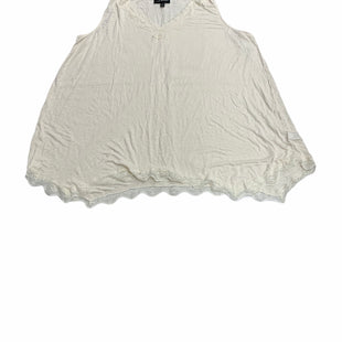 Primary Photo - BRAND: LANE BRYANT STYLE: TOP SLEEVELESS COLOR: CREAM SIZE: 2X SKU: 190-190125-39571