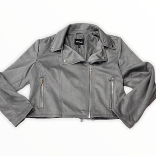 Primary Photo - BRAND: EXPRESS STYLE: JACKET OUTDOOR COLOR: GREY SIZE: XL SKU: 190-190140-22576