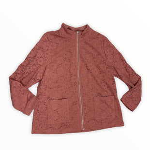 Primary Photo - BRAND: DENIM AND CO QVC STYLE: JACKET OUTDOOR COLOR: SALMON SIZE: XL SKU: 190-190125-38845