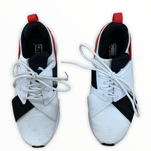 Primary Photo - BRAND: PUMA STYLE: SHOES ATHLETIC COLOR: WHITE SIZE: 7 SKU: 190-190140-24271