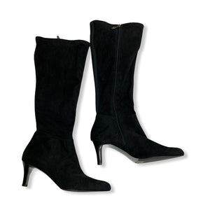 Primary Photo - BRAND: TAHARI STYLE: BOOTS KNEE COLOR: BLACK SIZE: 11 SKU: 190-19060-45286