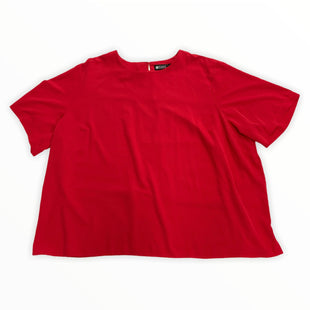 Primary Photo - BRAND: MAGGIE BARNES STYLE: TOP SHORT SLEEVE COLOR: RED SIZE: 4X SKU: 190-190125-41096