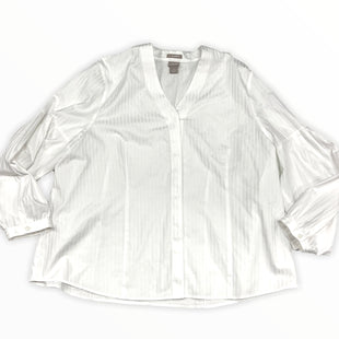 Primary Photo - BRAND: CHICOS STYLE: TOP LONG SLEEVE COLOR: WHITE SIZE: 1X SKU: 190-190125-40051