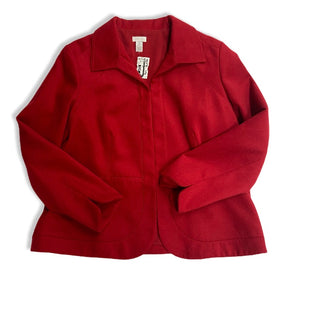 Primary Photo - BRAND: CHICOS STYLE: JACKET OUTDOOR COLOR: RED SIZE: XL SKU: 190-19060-42130
