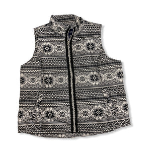 Primary Photo - BRAND: LANDS END STYLE: VEST COLOR: BLACK WHITE SIZE: 1X SKU: 190-190161-839