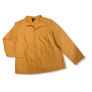 Primary Photo - BRAND: EILEEN FISHER STYLE: JACKET OUTDOOR COLOR: ORANGE SIZE: 1X SKU: 190-19060-45858