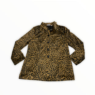 Primary Photo - BRAND: CHICOS STYLE: JACKET OUTDOOR COLOR: ANIMAL PRINT SIZE: L OTHER INFO: NEW! SKU: 190-190125-37321