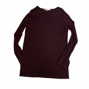 Primary Photo - BRAND: LOFT STYLE: SWEATER LIGHTWEIGHT COLOR: PURPLE SIZE: M SKU: 190-19060-46707