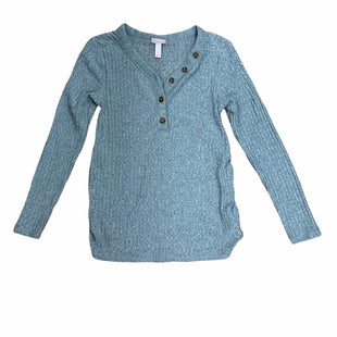 Primary Photo - BRAND: ISABEL MATERNITY STYLE: MATERNITY TOP LONG SLEEVE COLOR: GREY SIZE: XS SKU: 190-19060-44888