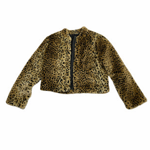 Primary Photo - BRAND: NICOLE BY NICOLE MILLER STYLE: JACKET OUTDOOR COLOR: ANIMAL PRINT SIZE: M SKU: 190-19060-45954