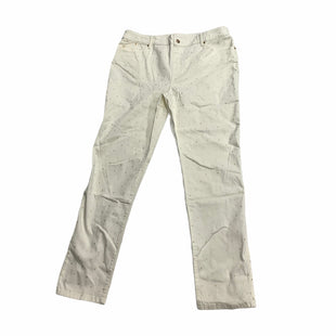 Primary Photo - BRAND: CHICOS STYLE: JEANS COLOR: IVORY SIZE: 16 OTHER INFO: NEW! SKU: 190-190106-55685