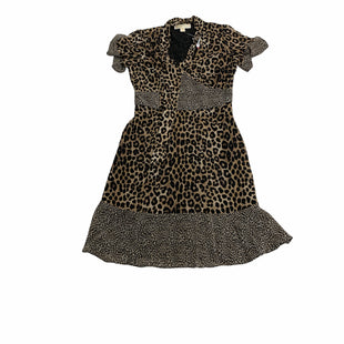 Primary Photo - BRAND: MICHAEL BY MICHAEL KORS STYLE: DRESS SHORT SHORT SLEEVE COLOR: ANIMAL PRINT SIZE: XS OTHER INFO: NEW! SKU: 190-190140-25691