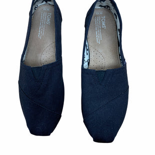 Primary Photo - BRAND: TOMS STYLE: SHOES FLATS COLOR: BLACK SIZE: 10 SKU: 190-190140-22563