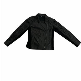 Primary Photo - BRAND: EILEEN FISHER STYLE: JACKET OUTDOOR COLOR: BLACK SIZE: S SKU: 190-190140-21025