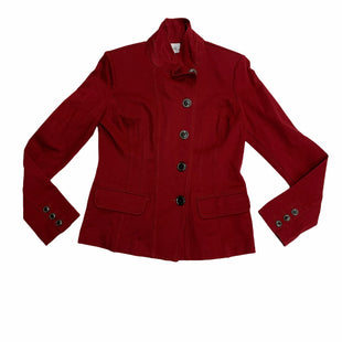 Primary Photo - BRAND: CABI STYLE: JACKET OUTDOOR COLOR: RED SIZE: S SKU: 190-190140-21332