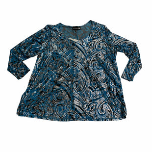 Primary Photo - BRAND: ANTTHONY STYLE: TOP LONG SLEEVE COLOR: BLUE SIZE: 2X OTHER INFO: NEW! SKU: 190-190125-37803