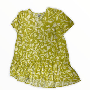 Primary Photo - BRAND: A NEW DAY STYLE: DRESS SHORT SHORT SLEEVE COLOR: YELLOW SIZE: 1X SKU: 190-190161-1032