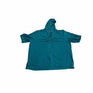 Primary Photo - BRAND: LANE BRYANT STYLE: ATHLETIC JACKET COLOR: TEAL SIZE: 2X SKU: 190-190140-25432