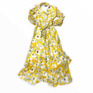 Primary Photo - BRAND: BANANA REPUBLIC STYLE: DRESS LONG LONG SLEEVE COLOR: YELLOW SIZE: S SKU: 190-190125-39411
