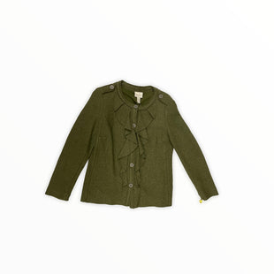 Primary Photo - BRAND: CHICOS STYLE: JACKET OUTDOOR COLOR: GREEN SIZE: M SKU: 190-190140-20103