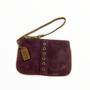 Primary Photo - BRAND: COACH STYLE: WRISTLET COLOR: PURPLE SKU: 190-190125-37114
