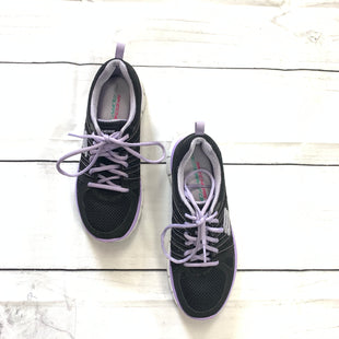 Primary Photo - BRAND: SKECHERS STYLE: SHOES ATHLETIC COLOR: BLACK SIZE: 5.5 SKU: 190-19060-41567