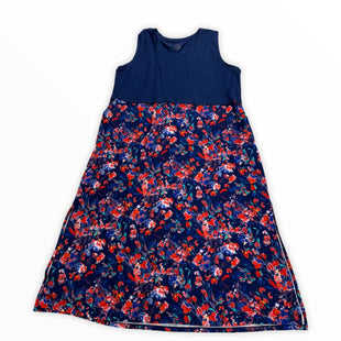 Primary Photo - BRAND: CUDDL DUDS STYLE: DRESS LONG SLEEVELESS COLOR: BLUE SIZE: 1X SKU: 190-190125-29029