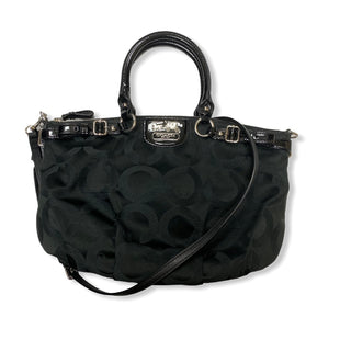 Primary Photo - BRAND: COACH STYLE: HANDBAG DESIGNER COLOR: BLACK SIZE: MEDIUM MODEL NUMBER: 18650 SKU: 190-190106-52927