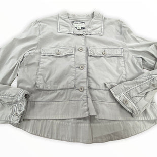 Primary Photo - BRAND: ANTHROPOLOGIE STYLE: JACKET OUTDOOR COLOR: GREY SIZE: L SKU: 190-19060-43734