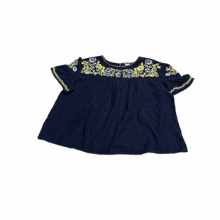 Primary Photo - BRAND: CASLON STYLE: TOP SHORT SLEEVE COLOR: BLUE SIZE: 4X SKU: 190-190106-54905