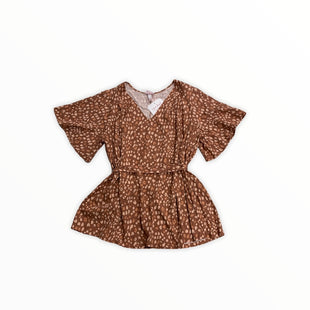 Primary Photo - BRAND: ISABEL MATERNITY STYLE: MATERNITY TOP SHORT SLEEVE COLOR: ANIMAL PRINT SIZE: XL OTHER INFO: NEW! SKU: 190-190140-22137