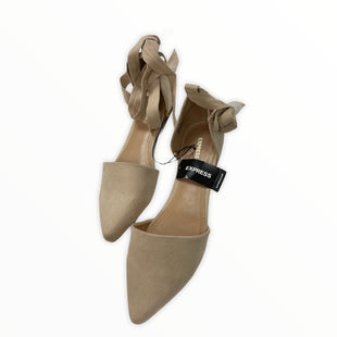 Primary Photo - BRAND: EXPRESS STYLE: SHOES FLATS COLOR: TAN SIZE: 8 SKU: 190-190125-35324