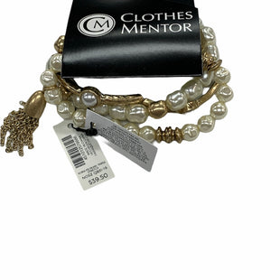 Primary Photo - BRAND: CHICOS STYLE: BRACELET COLOR: PEARL SIZE: 03 PIECE SET OTHER INFO: NEW! SKU: 190-190140-25014