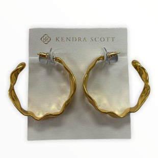 Primary Photo - BRAND: KENDRA SCOTT JEWLERY STYLE: EARRINGS COLOR: GOLD SKU: 190-190106-57458