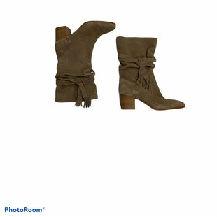 Primary Photo - BRAND: TAHARI STYLE: BOOTS ANKLE COLOR: TAN SIZE: 9.5 SKU: 190-19060-46517