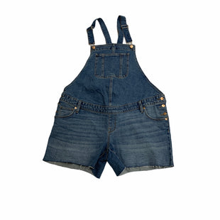 Primary Photo - BRAND: ISABEL MATERNITY STYLE: MATERNITY OVERALLS COLOR: DENIM BLUE SIZE: M OTHER INFO: NEW! SKU: 190-190140-21952