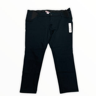 Primary Photo - BRAND: ISABEL MATERNITY STYLE: MATERNITY JEANS COLOR: BLACK SIZE: 18 OTHER INFO: NEW! SKU: 190-190140-22295