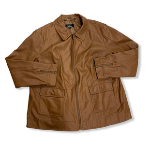 Primary Photo - BRAND: DENNIS BASSO QVC STYLE: JACKET OUTDOOR COLOR: BROWN SIZE: 2X SKU: 190-190106-53126
