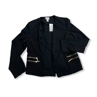 Primary Photo - BRAND: CHICOS STYLE: BLAZER JACKET COLOR: BLACK SIZE: M SKU: 190-190106-53030