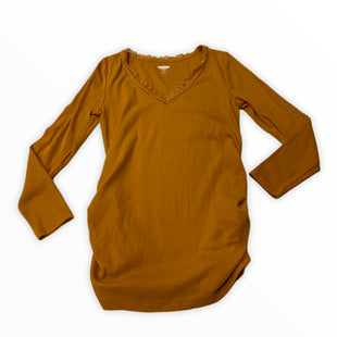 Primary Photo - BRAND: OLD NAVY STYLE: MATERNITY TOP BASIC COLOR: MUSTARD SIZE: S SKU: 190-190161-1393