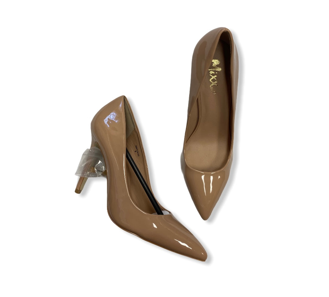 Primary Photo - BRAND:    CLOTHES MENTOR <BR>STYLE: SHOES HIGH HEEL <BR>COLOR: NUDE <BR>SIZE: 8 <BR>OTHER INFO: MIXX SHUZ - <BR>SKU: 190-19060-43629