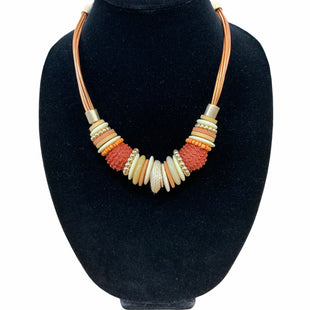 Primary Photo - BRAND: CHICOS STYLE: NECKLACE COLOR: ORANGE SKU: 190-190125-38528