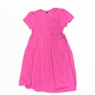 Primary Photo - BRAND: UNIVERSAL THREAD STYLE: DRESS SHORT SHORT SLEEVE COLOR: PINK SIZE: 1X OTHER INFO: NEW! SKU: 190-190125-40095
