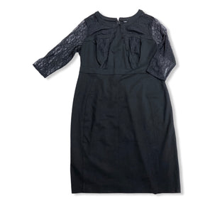 Primary Photo - BRAND: LANE BRYANT STYLE: DRESS SHORT LONG SLEEVE COLOR: BLACK SIZE: 1X SKU: 190-190140-20626
