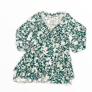 Primary Photo - BRAND: FREE PEOPLE STYLE: DRESS SHORT LONG SLEEVE COLOR: GREEN SIZE: M SKU: 190-190140-23981