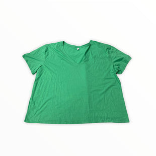 Primary Photo - BRAND: BP STYLE: TOP SHORT SLEEVE COLOR: GREEN SIZE: 4X OTHER INFO: NEW! SKU: 190-190140-24006