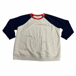 Primary Photo - BRAND: OLD NAVY STYLE: ATHLETIC TOP COLOR: OATMEAL SIZE: 3X OTHER INFO: NEW! SKU: 190-190125-39612